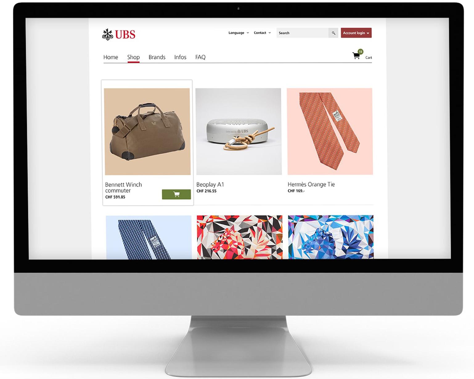 UBS lässt ihr Produkte bei Pandinavia realisieren