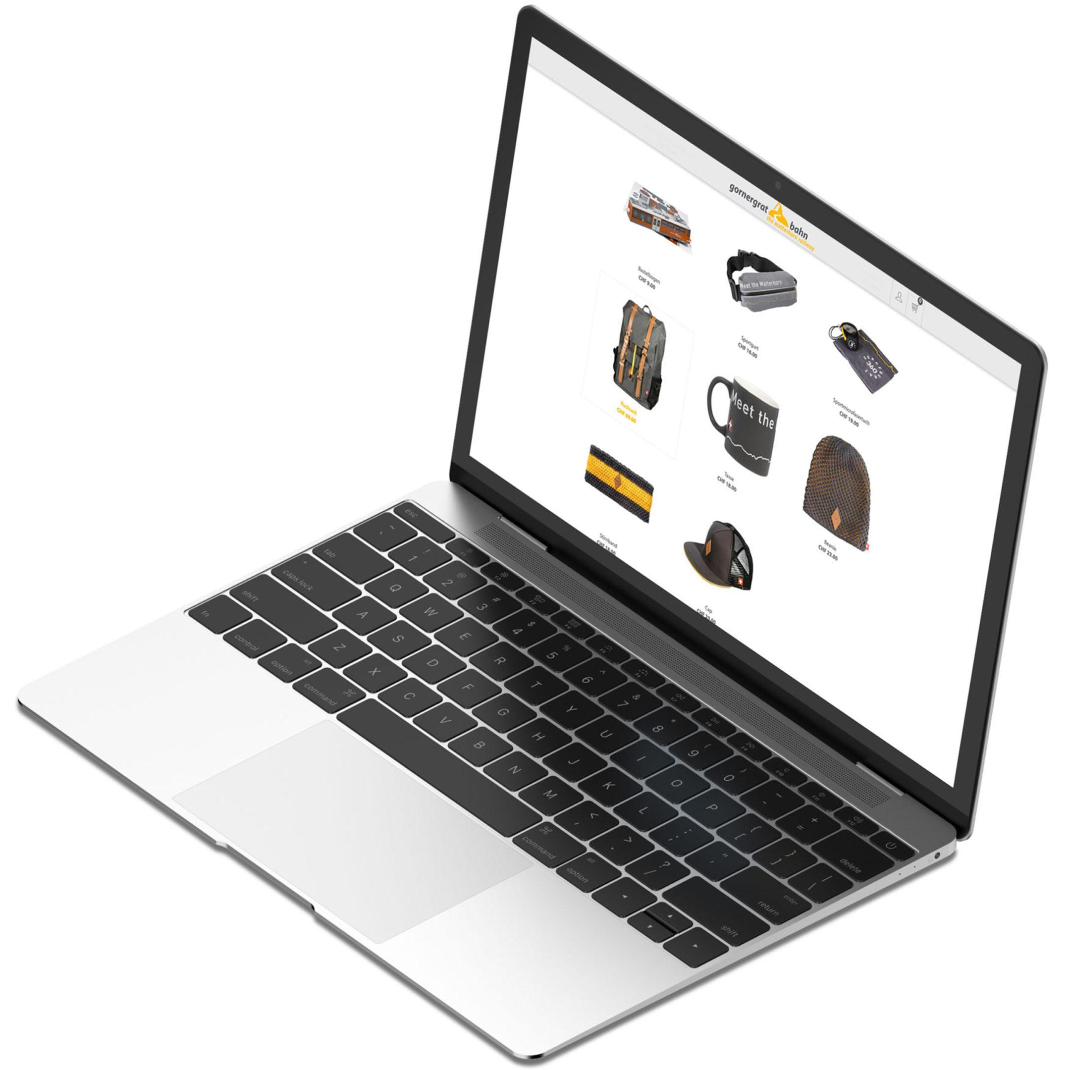 iMac Website Gornergratbahn