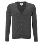 Hakro Merino Wool Cardigan Men