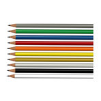 Long Painted Pencil
