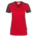 Hakro V-Shirt Contrast Performance Lady
