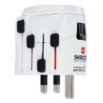 World Travel Adapter 3pole